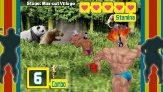 Muscle March (Nintendo Wii WiiWare) [HD] - Full Game