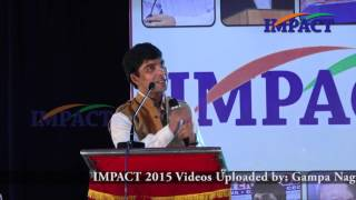 How to Achieve Goals by V Venu Bhagawan at IMPACT VSKP 2015