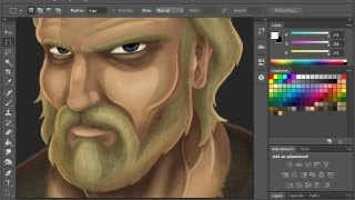 Painting in Photoshop! (Tutorial)