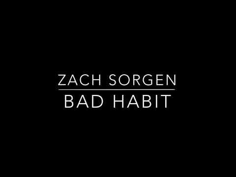 Bad Habit - Zach Sorgen (lyrics) Mp3