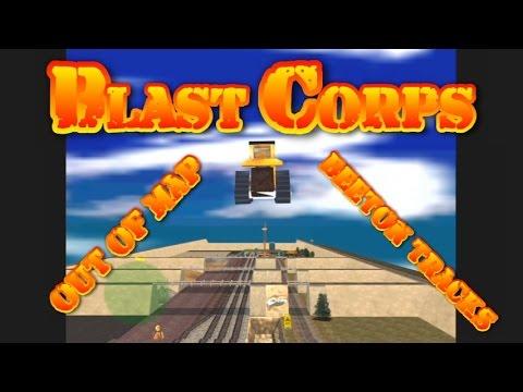 Blast Corps Glitch Out Of Map Beeton Tracks