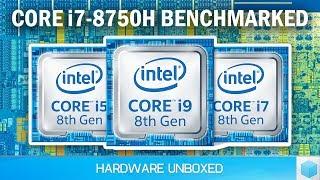 6 Core Laptop! Intel Core i7-8750H vs i7-7700HQ Benchmarked