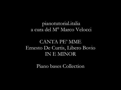 CANTA PE' MME - Backing track - Ernesto De Curtis, Libero Bovio - Piano bases Collection