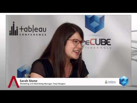 Sarah Stone - Tableau Conference 2014 - TheCUBE