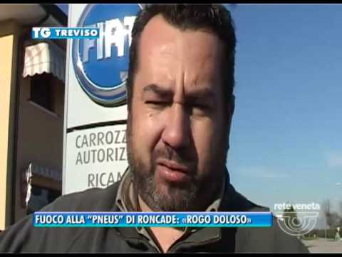 TG TREVISO (30/11/2016) - FUOCO ALLA...
