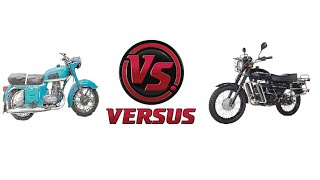 Мотоцикл Минск против мотоцикла Восход