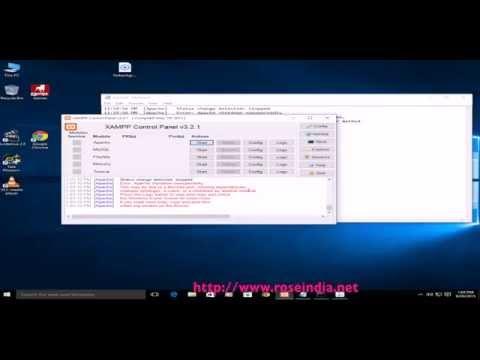Xampp, Apache starting Error: Apache shutdown unexpectedly - Error solved