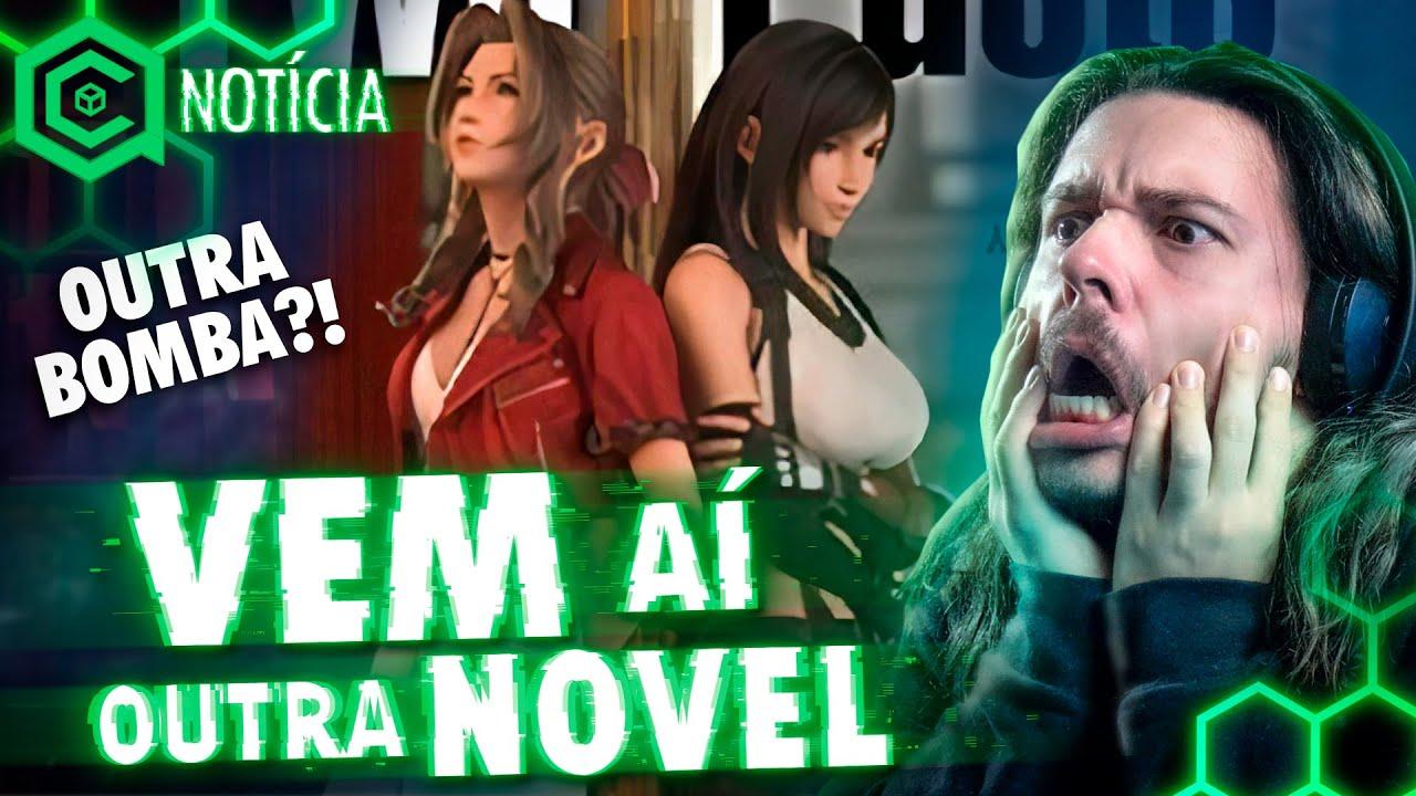 Square REVELA mais uma NOVEL de Final Fantasy VII