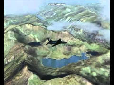 Hawk trainer over North Wales.avi