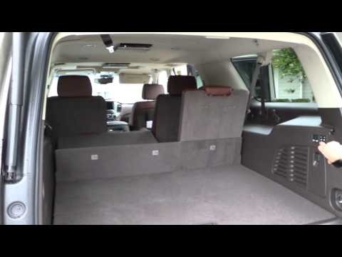 Review of 2015 Chevy Suburban Trunk Space