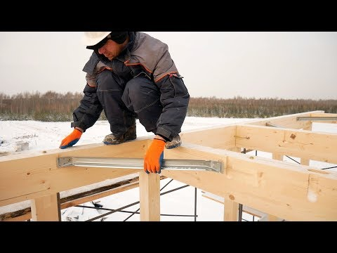 Japanese wood-frame house in 7 days not with your own hands. Step by step
