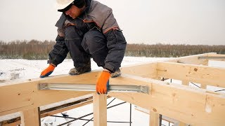 Japanese wood-frame house in 7 days with your own hands. Step by step