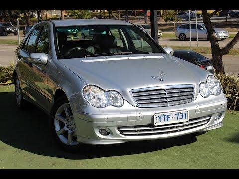 B5107 - 2006 Mercedes Benz C180 Kompressor Classic Auto MY07 Review