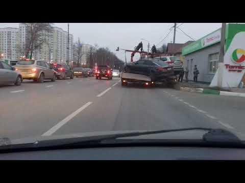 Дтп эвокуаторов в Чехове.