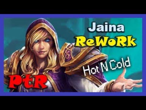 Hot N Cold. Hot Skin N Cold Blood. - Jaina - PTR Quick Match Gameplay