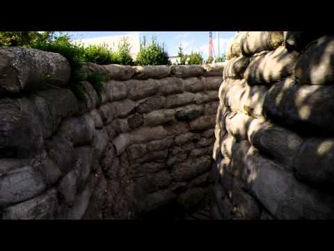 World War 1 Trench in Belgium