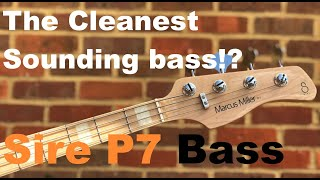 Marcus Miller Sire P7 Bass Guitar Demo/Review