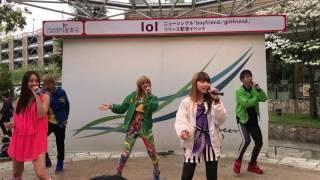 ららぽーと横浜ミニライブ\(^^)/ Twitterもフォローお願いします\(^^...