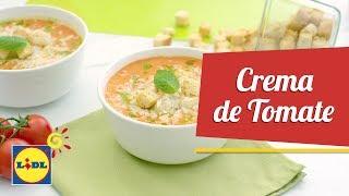 Crema de Tomate con Hierbabuena - Hoy Cocinamos