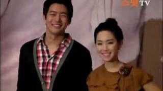 [20081106] Lee Sang Yoon & Lee Yoo Ri at ILYDC Press Conference
