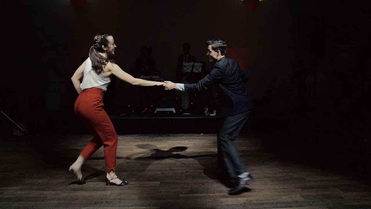 Swingin Paris Winter 2019 - Brian & Samantha Lawton with Eyal Vilner Swing Band