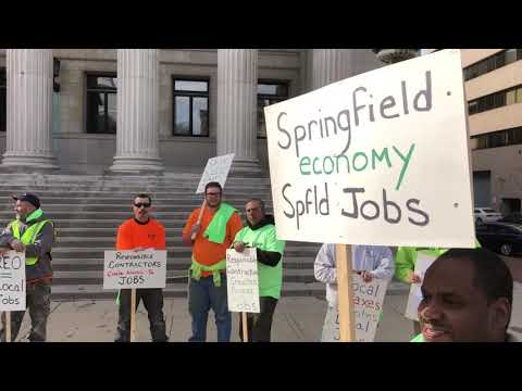 Unions come out to support Springfield's efforts to require more public construction jobs for women, minorities, residents