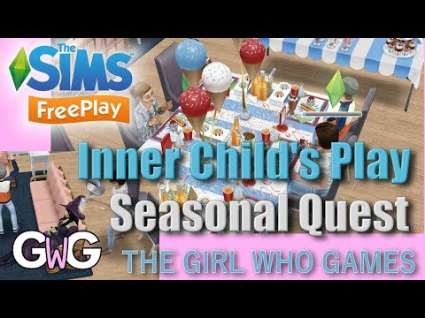 The Sims Freeplay- Inner Child's Play Quest