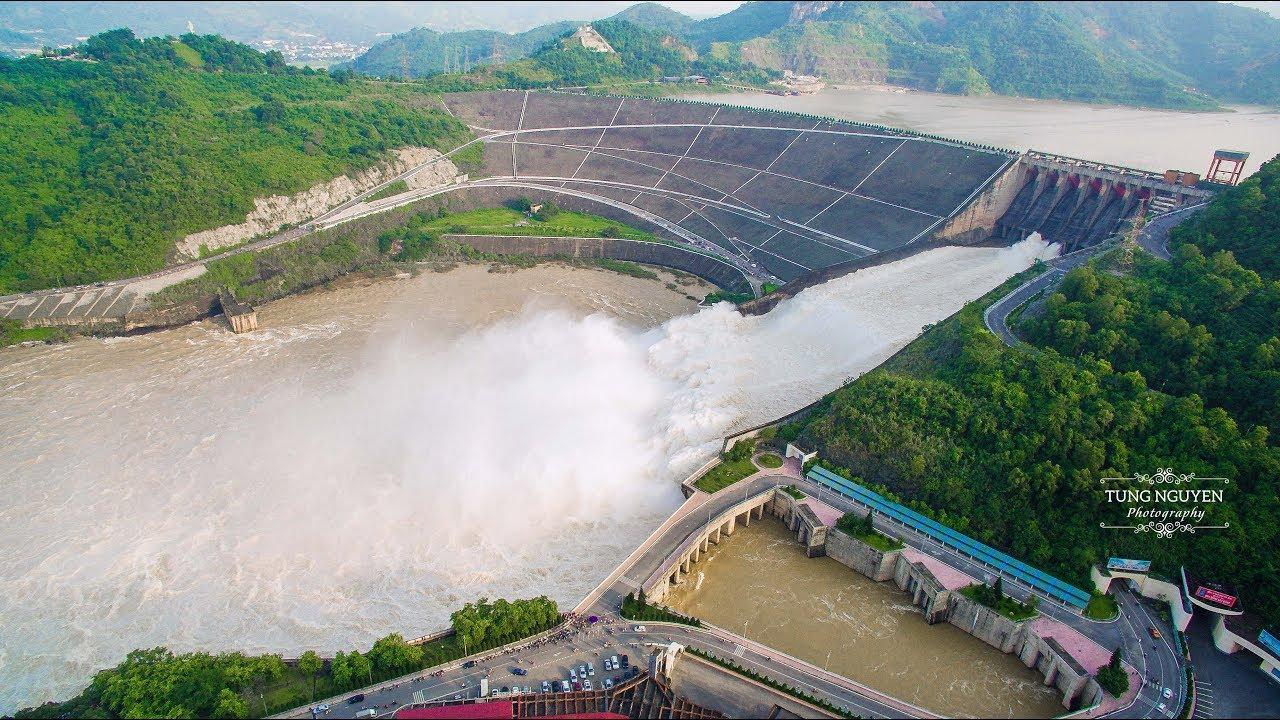 Image result for thủy điện hòa bình