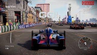 GRID [2019] - Havana Circuit Gameplay with IMSA Prototypes