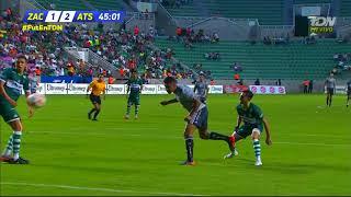 Gol de J. Duque | Atlético Zacatepec 1 - 2 Atlas | Copa MX - Apertura 2018 - Jornada 6 |