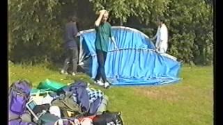 Dan, Dave & James go camping in Wool, Dorset (1993)