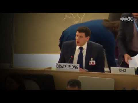 WJC Interrupted by Palestinian Delegation at UN Human Rights Council