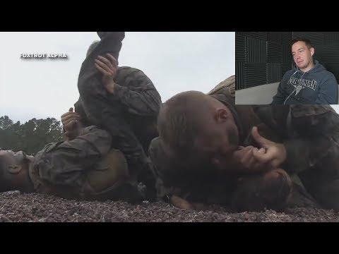 Navy Sailor Reacts to Marine Corps Martial Arts (McNinja)