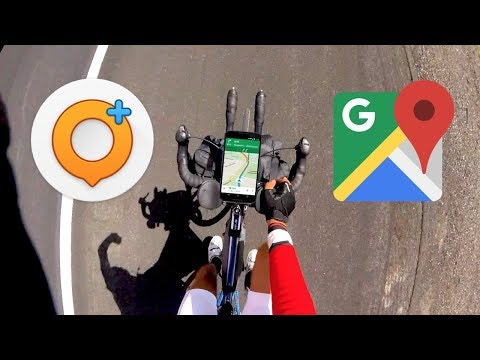 Best Cycling Navigation Apps (Gmaps & OsmAnd+)