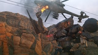 Metal Gear Solid 5: Sahelanthropus (2nd Encounter) Final Boss Fight (1080p 60fps)
