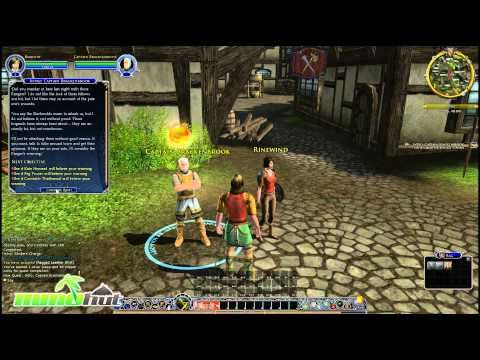 Lord Of The Rings Mmo Gameplay