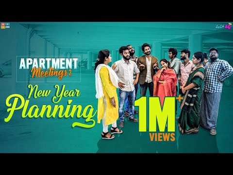 Apartment Meetings - 2 | New Year Planning || Ft.SatyaDev || Mahathalli