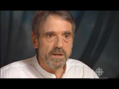 an interview with Jeremy Irons from 2007
