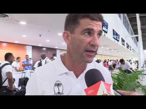 Vodafone Fiji 7s team departs for Hong Kong