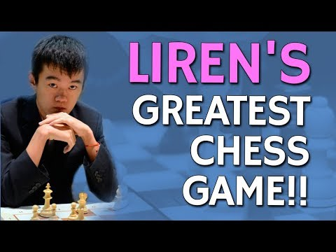 Ding Liren's Greatest Chess Game 🏆 by GM Eugene Perelshteyn