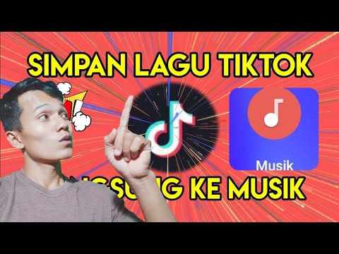Cara Menyimpan Lagu Tiktok Ke Musik Tanpa Aplikasi