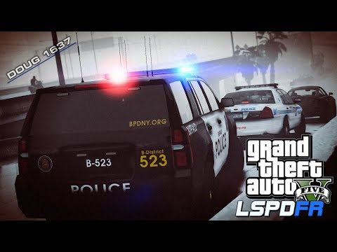 GTA V LSPDFR Day-202 (City Patrol) (BPD)