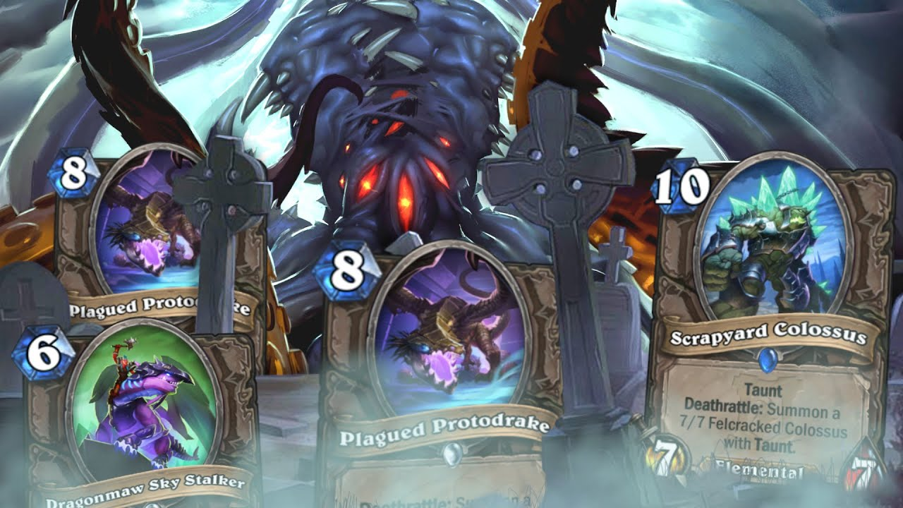 INSANE Deathrattle N'Zoth Deck in ARENA?! | Druid Arena | Hearthstone