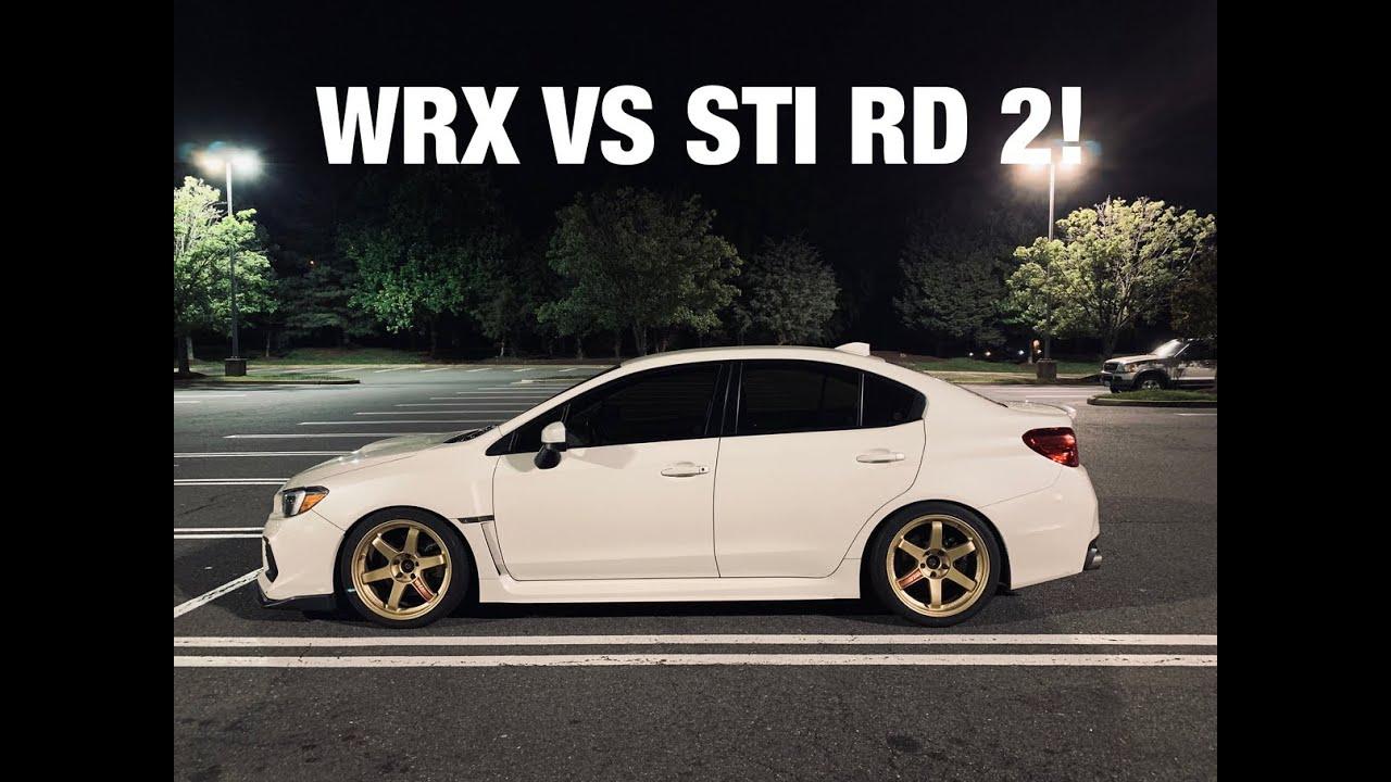 Stage 2 WRX vs Stage 2 STI