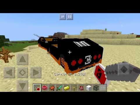 Bugatti In Minecraft PE!!!