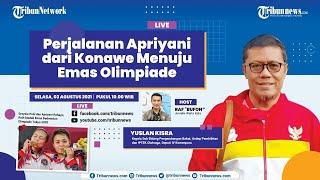 LIVE TALKSHOW: Perjalanan Apriyani Rahayu dari Konawe Menuju Emas Olimpiade