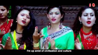 aau sathi sangi ho by alina dulal with english subtitle
