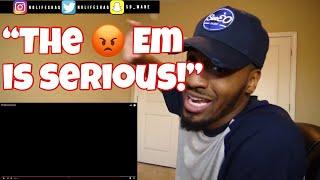 Bro!!! Em did her 10x worst than Ja Rule! | Eminem - Kim | REACTION