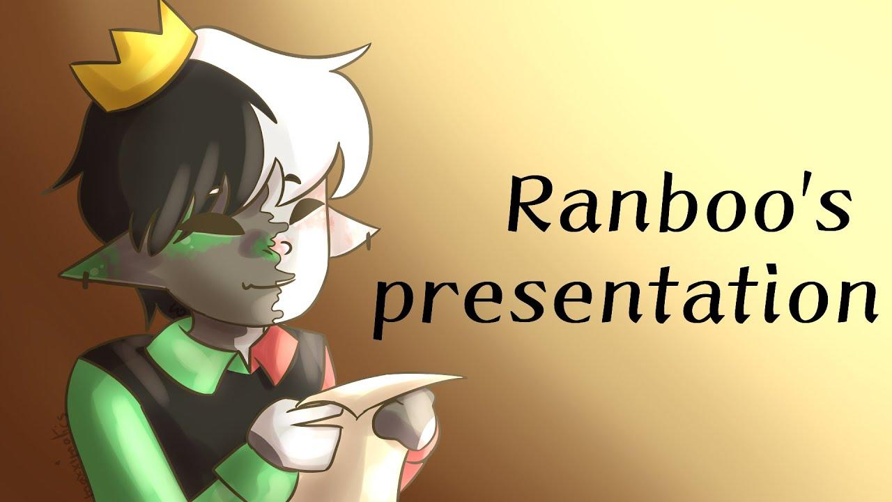 Ranboo's presentation [JACKBOX ANIMATIC]