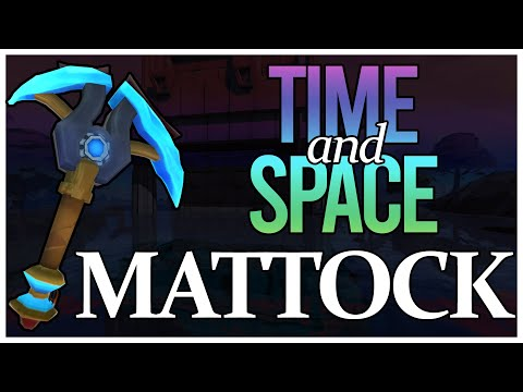 Buying The Mattock Of Time And Space In Runescape For 500M...